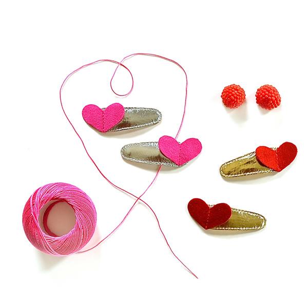 헬로시소[HELLOshiso] sweetheart clips - lifestyle