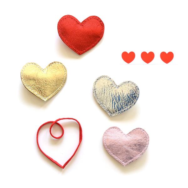 헬로시소[HELLOshiso] big heart clip
