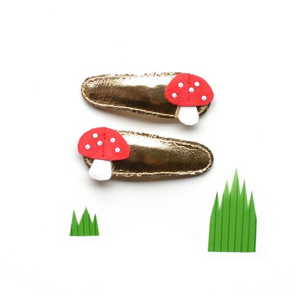 헬로시소[HELLOshiso] mushroom clips