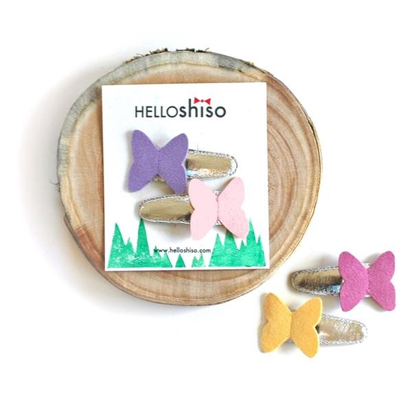 헬로시소[HELLOshiso] butterfly clips