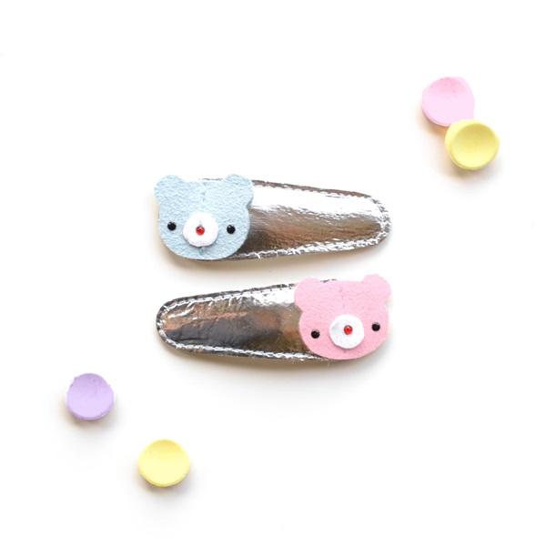 헬로시소[HELLOshiso] teddy clips