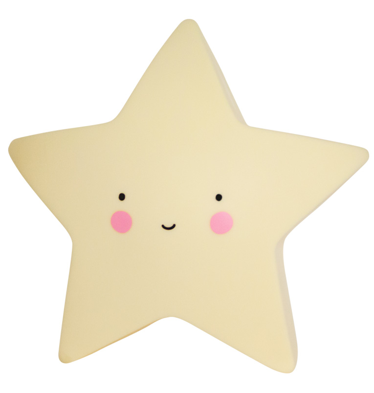 MINI STAR LIGHT: YELLOW
