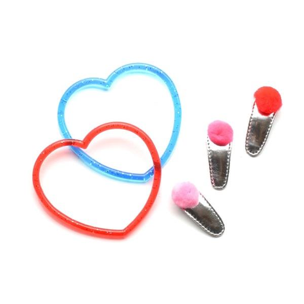 헬로시소[HELLOshiso] valentine mini pom set