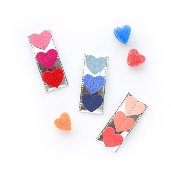 헬로시소[HELLOshiso] triple heart clips