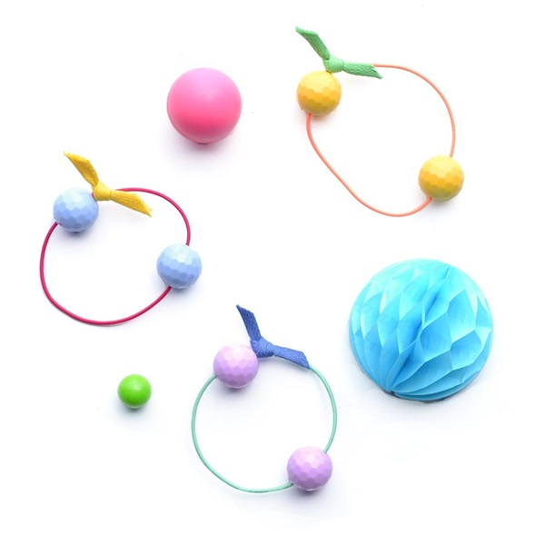 헬로시소 [HELLOshiso] bubbles hair ties