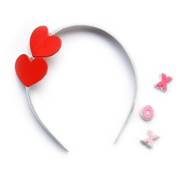 헬로시소 [HELLOshiso]heart headband