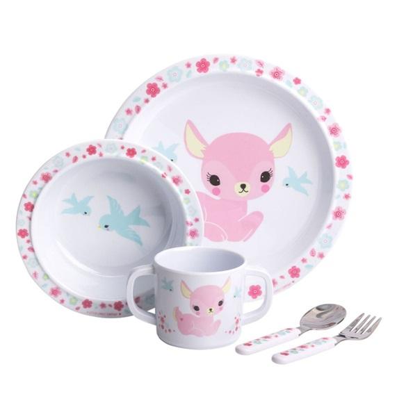 Dinner set: Deer