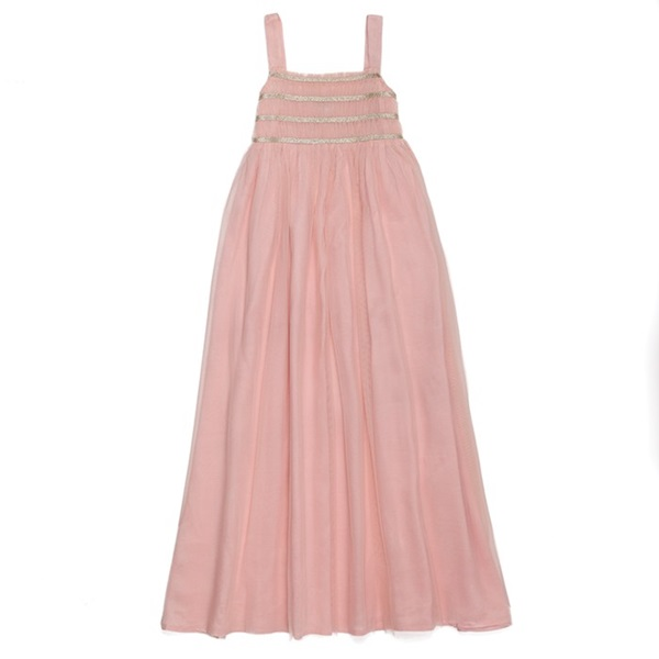 Sugar Almond Dress - Shell Pink