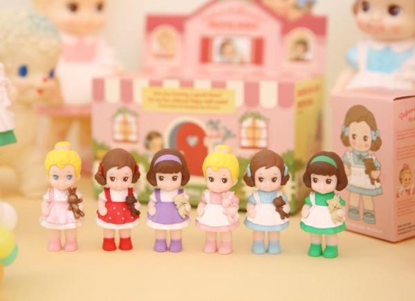 [아프로캣] Paper doll mate (Blind box) - 페이퍼돌 메이트 푸치돌 (단품랜덤)