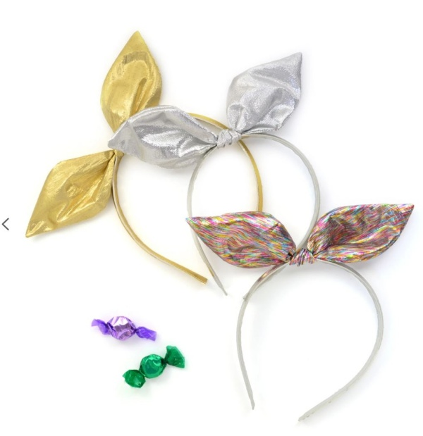 헬로시소[HELLOshiso] METALLIC BOW HEADBAND