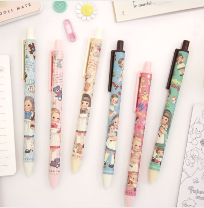 ♥ 입고 ♥ Paper doll mate tick-tock ball pen