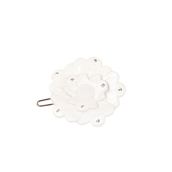 Bondep[본뎁]Small flower clip - offwhite