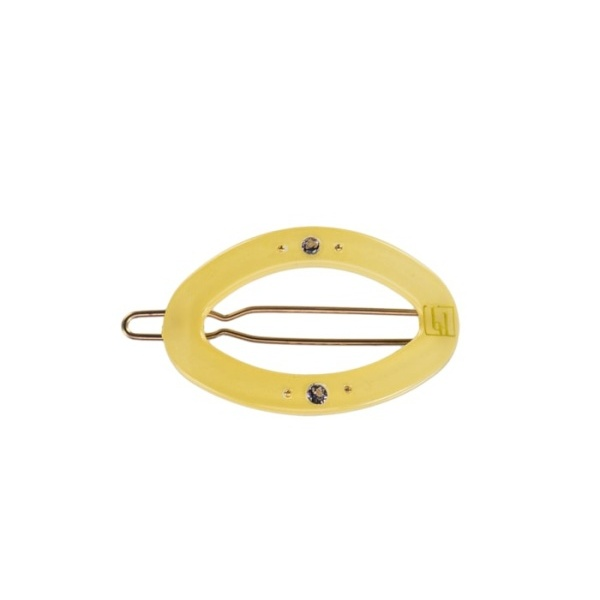 Bondep[본뎁]Circle clip - 4cm Light Yellow