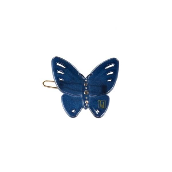 Bondep[본뎁]Butterfly clip - Navy