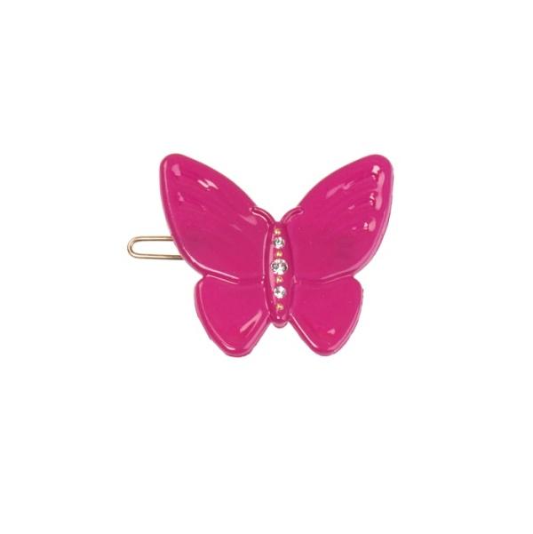 Bondep[본뎁]Butterfly clip - fuchsia