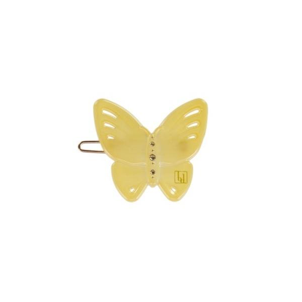 Bondep[본뎁]Butterfly clip - Light Yellow