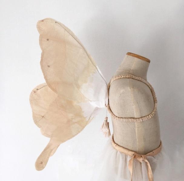 Flower fairy wings - Tea
