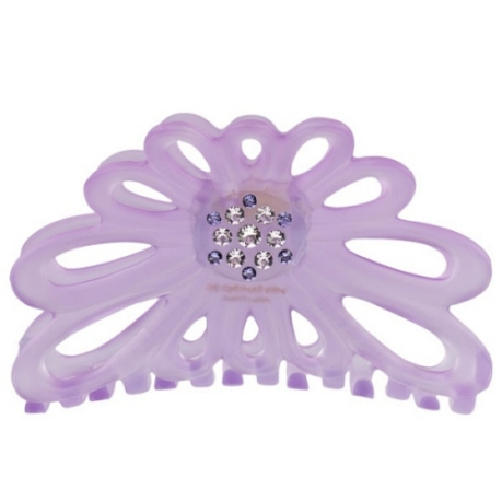 Bondep[본뎁]Flowerclaw 8cm Lavendel Swarovski