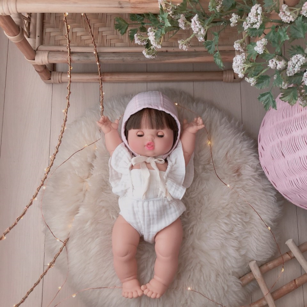 Linen Bonnet
